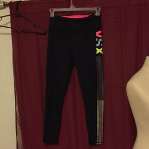 VSX sport knockout tights leggings logo multicolor